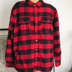 Columbia shirt jacket Size XXL